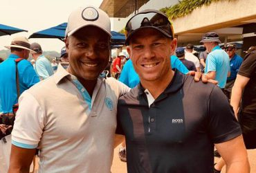 Brian Lara and David Warner