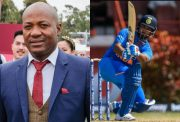Brian Lara and Rishabh Pant