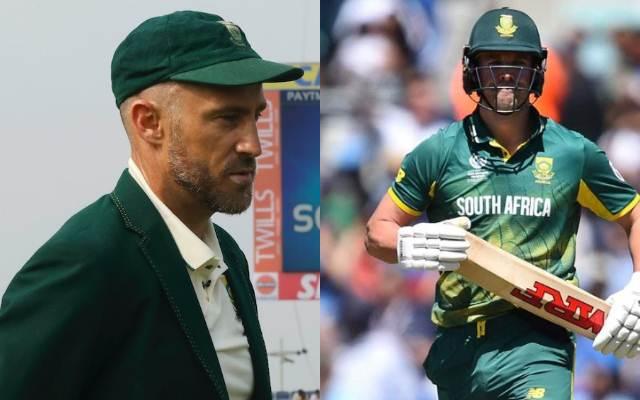 Faf du Plessis and AB de Villiers