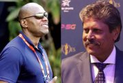 Ian Bishop and Kapil Dev