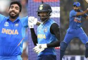 Jasprit Bumrah, Hardik Pandya and Shreyas Iyer