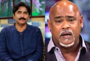 Javed Miandad and Vinod Kambli
