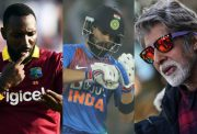 Kesric williams, Virat Kohli and Amitabh Bachchan