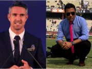 Kevin Pietersen and Sanjay Manjrekar