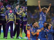 Kolkata Knight Riders and Mumbai Indians