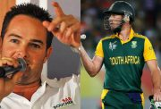 Mark Boucher and AB de Villiers
