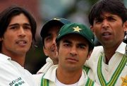 Mohammad Amir, Salman Butt and Mohammad Asif