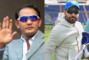 Mohammed Azharuddin and Rohit Sharma