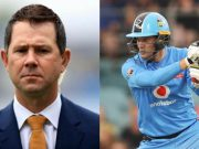 Ricky Ponting and Alex Carey