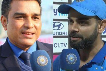 Sanjay Manjrekar and Virat Kohli