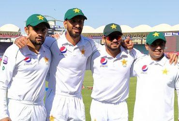 Shan Masood, Abid Ali, Azhar Ali & Babar Azam