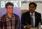 Sourav Ganguly and MSK Prasad