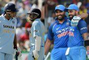Tendulkar-Ganguly & Rohit-Kohli