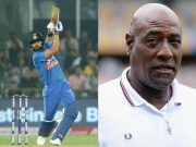 Virat Kohli and Vivian Richards