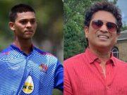 Yashasvi Jaiswal and Sachin Tendulkar