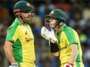 Aaron Finch and David Warner