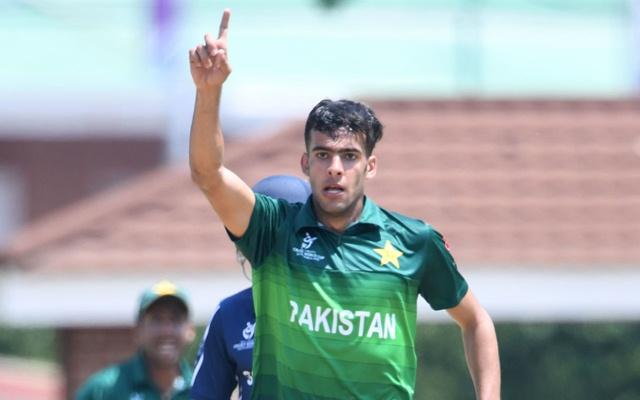 Abbas Afridi of Pakistan U19