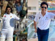 Abid Ali and Sachin Tendulkar