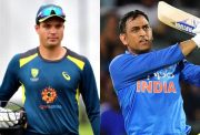 Alex Carey and MS Dhoni