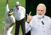 Anil Kumble and Narendra Modi