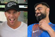 David Warner and Virat Kohli