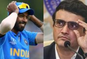 Hardik Pandya and Sourav Ganguly