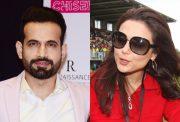 Irfan Pathan & Preity Zinta