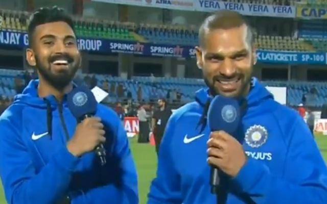 KL Rahul & Shikhar Dhawan