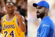 Kobe Bryant and Virat Kohli