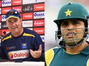 Mickey Arthur and Kamran Akmal