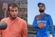 Sandeep Patil and Virat Kohli