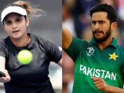 Sania Mirza and Hasan Ali