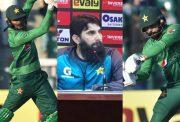 Shoaib Malik, Misbah-ul-Haq and Mohammad Hafeez