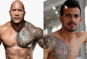 The Rock and Yuzvendra Chahal