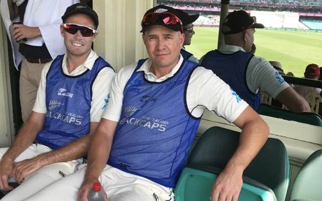 Tim Southee and Peter Fulton