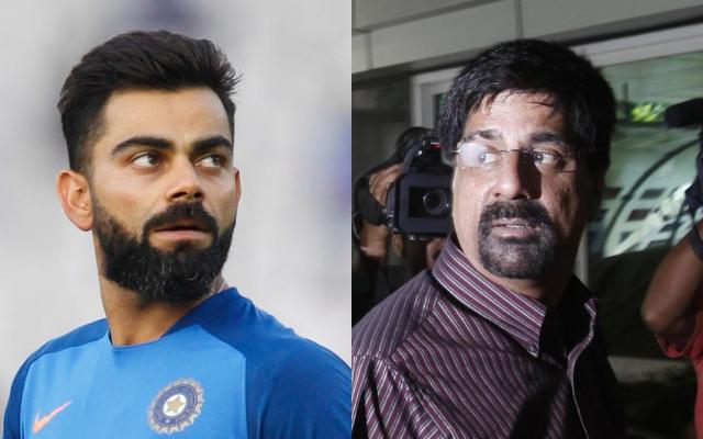 Virat Kohli and Krishnamachari Srikkanth
