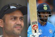 Virender Sehwag and KL Rahul