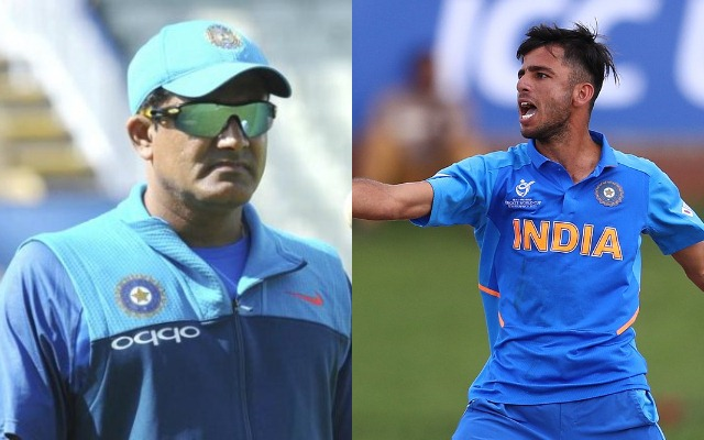 Anil Kumble and Ravi Bishnoi