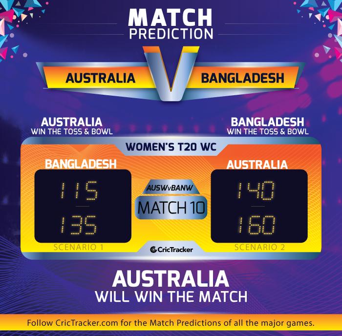 Australia-V-Bangladesh-Women's-T20-World-Cup