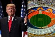 Donald Trump and Motera stadium