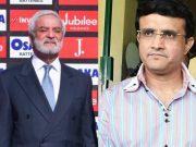 Ehsan Mani and Sourav Ganguly
