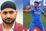 Harbhajan Singh and Ravi Bishnoi