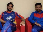 Imad Wasim and Babar Azam