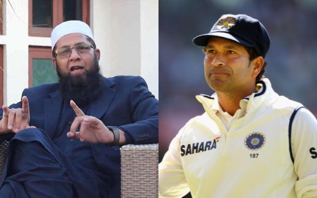 Inzamam-ul-Haq and Sachin Tendulkar