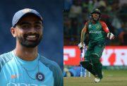 Jaydev Unadkat and Mushfiqur Rahim