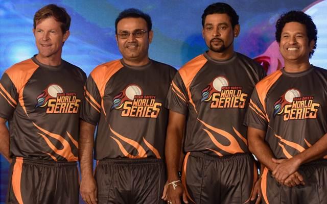 Jonty Rhodes, Virender Sehwag, Tilakaratne Dilshan and Sachin Tendulkar