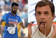 KL Rahul and Rahul Gandhi