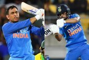 MS Dhoni and Manish Pandey