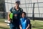 Mitchell Starc and Poonam Yadav