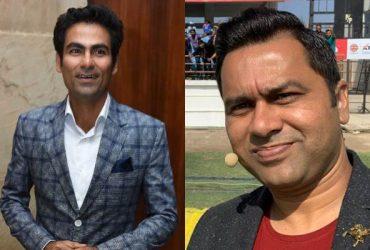 Mohammad Kaif and Aakash Chopra